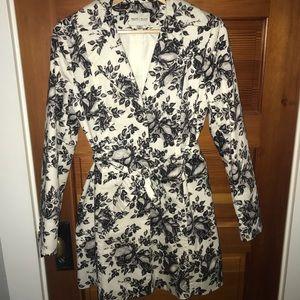 White House Black Market trench coat